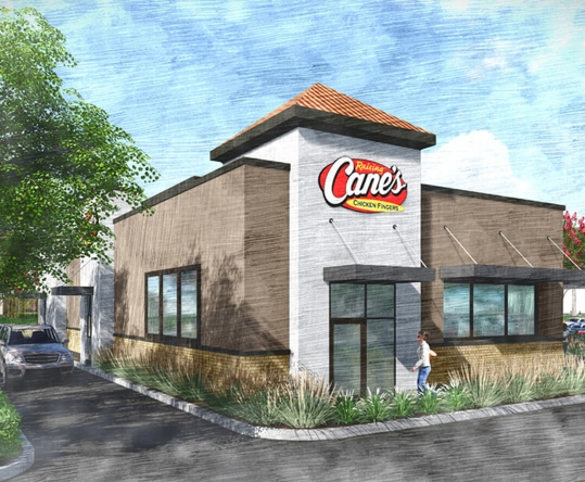 The Groves West End Market Raising Canes